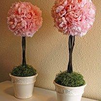 Jak zrobić drzewko ze sztucznych kwiatów