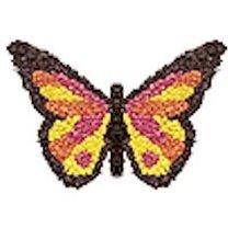 motyl z bibuły