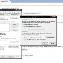 Ustawienie proxy w Google Chrome