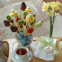owocowy bukiet na Dzień Matki