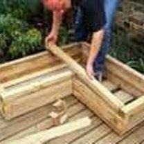 Budowanie drewnianej donicy 5