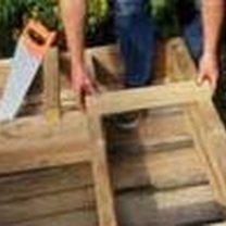 Budowanie drewnianej donicy 8