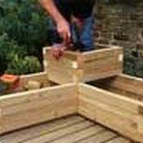 Budowanie drewnianej donicy 9