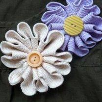 broszka kwiat