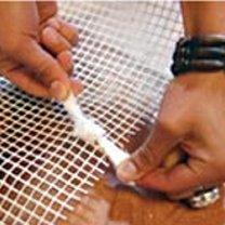 dywanik ze szmatek - krok 4