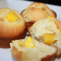 muffinki z mango