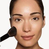 makijaż twarzy - krok 4