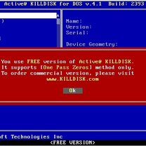Zerowanie dysku Kill Disk 2