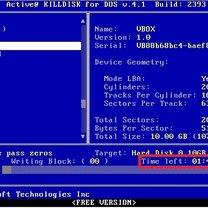 Zerowanie dysku Kill Disk 5