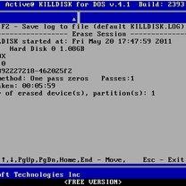 Zerowanie dysku Kill Disk 6