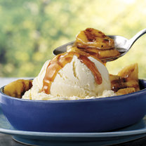 deser lodowy z bananami
