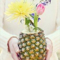 wazon z ananasa