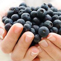 detoks owocowy - jagodowy