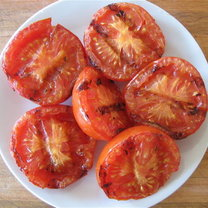 Grilowane pomidory