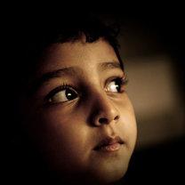 Zdjęcie oczu Jayati Saha