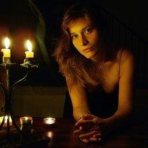 Portret w świetle świec