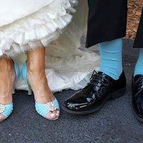 Pomysł na coś niebieskiego na ślub