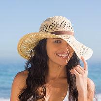 Kapelusz na plaży