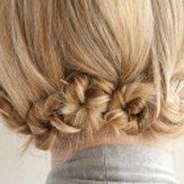 ślimaczki z włosów