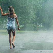 deszczowe lato