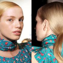 Modne fryzury 2011 - DKNY