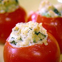Faszerowane pomidory z grilla