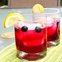 lemoniada z jagód