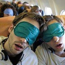 sen w samolocie