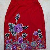 ozdobiona spódnica