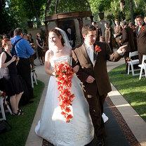 Bukiet ślubny kaskadowy 13