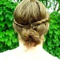 fryzura boho