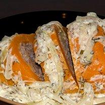 Paprykę faszerowaną mięsem mielonym z ryżem