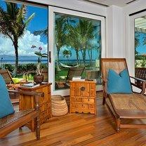salon w stylu hawajskim