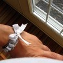 bransoletka z podkładek pod śrubki