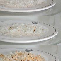 prażenie wiórków kokosowych w mikrofalówce