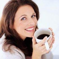 Kobieta z kawą