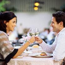 Para w restauracji