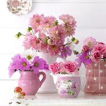 kwiaty cięte w pokoju dziecka