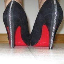 buty ozdobione zamkiem