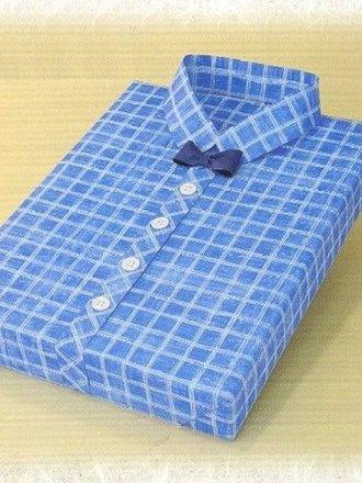 Pakowanie prezentów - koszula męska