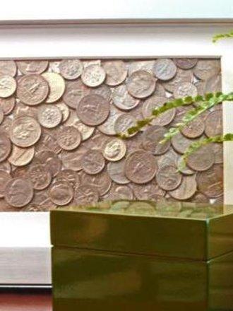 Ramka z monetami