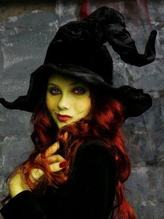 makijaż czarownicy