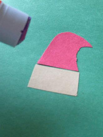 Robienie kartki z Mikołajem 4