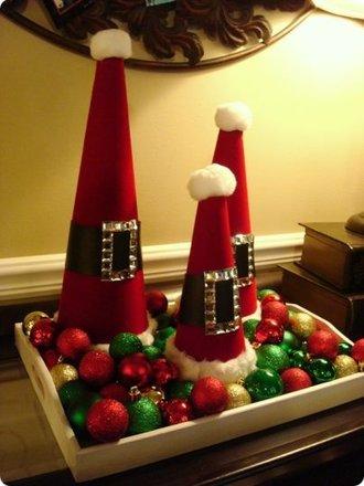 Jak Zrobić Dekorację świąteczną Czapka Mikołaja Porada