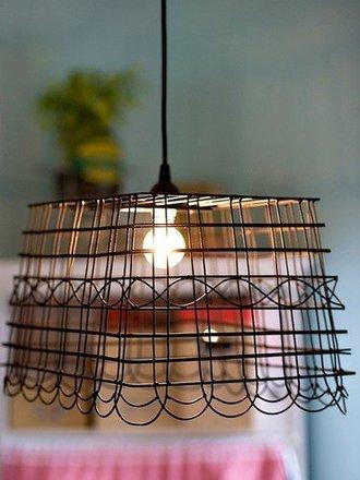 jak zrobić klosz w stylu zeglsrskim do lampy wiszącej