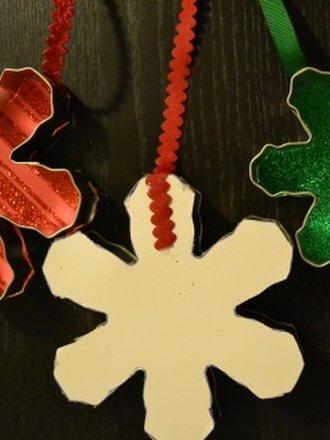 ozdoby bożonarodzeniowe z foremek
