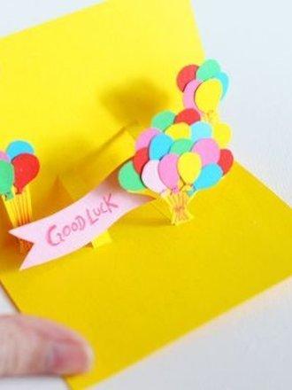 Jak Zrobić Kartkę Z Wyskakującymi Balonami Porada Tipypl