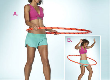Jak schudnąć z ud i brzycha na hula hop