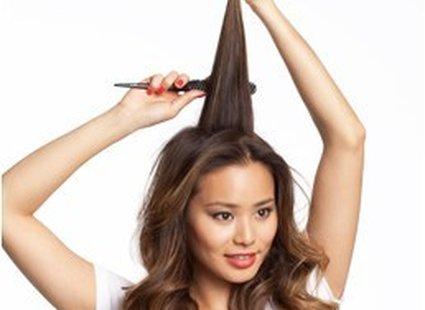 puszyste włosy krok 9