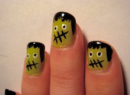 Frankenstein na paznokciach